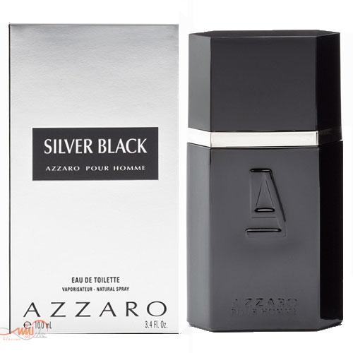 AZZARO SILVER BLACK POUR HOMME EDT