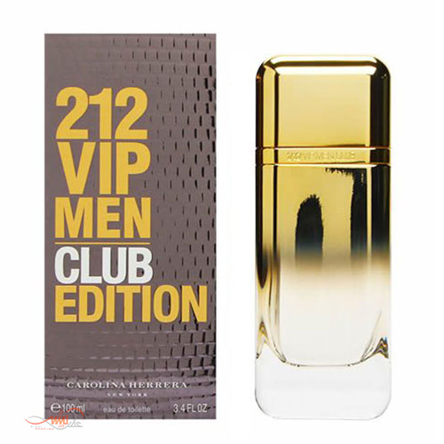 CAROLINA HERRERA 212 VIP MEN CLUB EDITION EDT