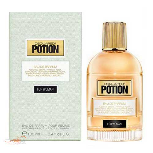 DSQUARED POTION FOR WOMAN EDP