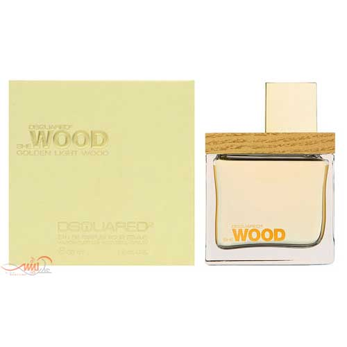 DSQUARED SHE WOOD GOLDEN LIGHT WOOD EDP