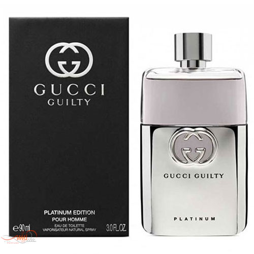 GUCCI GUILTY PLATINUM EDITION POUR HOMME EDT