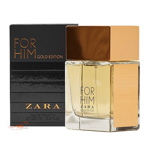 ZARA FOR HIM GOLD EDITION EDT