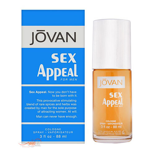 JOVAN S.X APPEAL FOR MEN COLOGNE