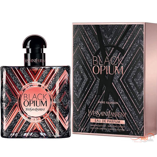 YVES SAINT LAURENT BLACK OPIUM PURE ILLUSION EDP